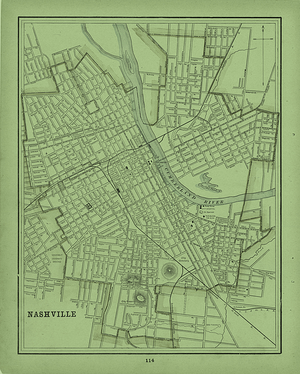 Nashville-map-Walden-University-Trevecca-blog
